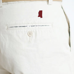 Mississippi Starkville Gameday Coastline Shorts Stone