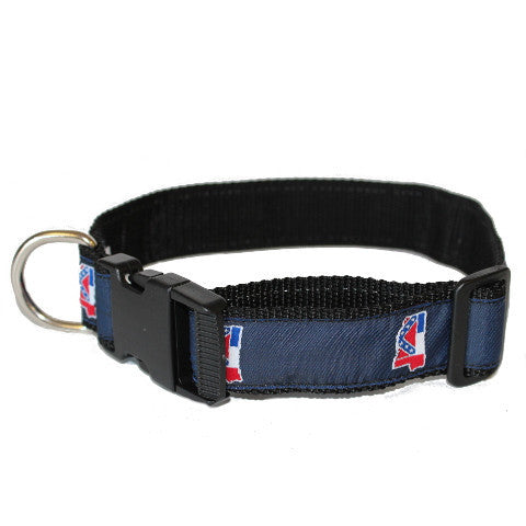 Mississippi Traditional Dog Collar