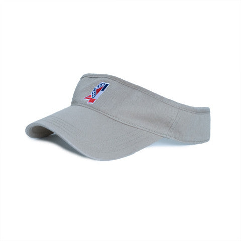 Mississippi Traditional Hat Visor Khaki