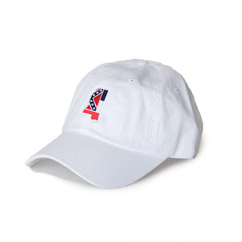 Mississippi Traditional Hat White