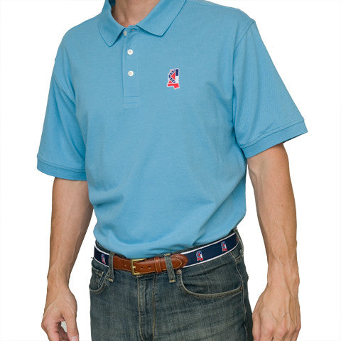 Mississippi Traditional Polo Light Blue