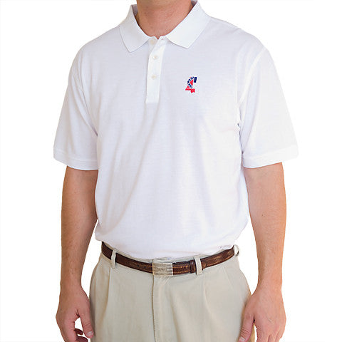 Mississippi Traditional Polo White