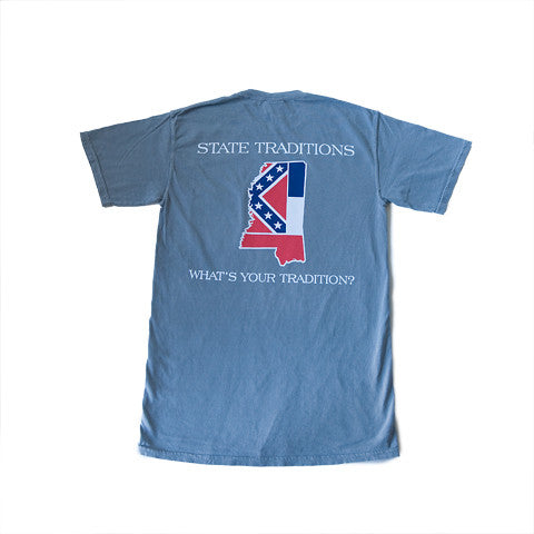 Mississippi Traditional T-Shirt Grey