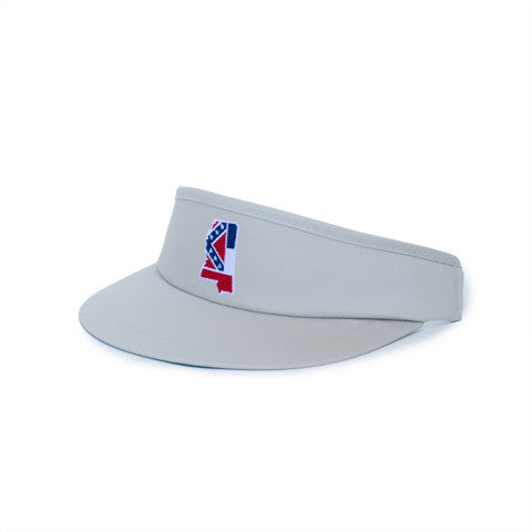 Mississippi Traditional Golf Visor Khaki