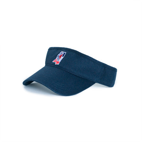 Mississippi Traditional Hat Visor Navy