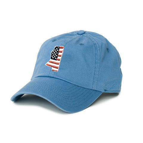 Mississippi Patriot Hat Gulf Blue