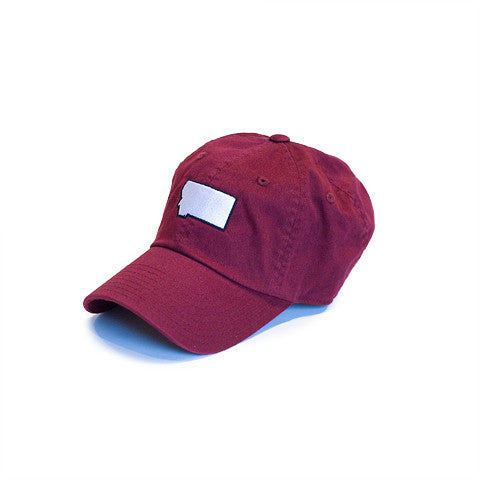 Montana Gameday Hat Burgundy
