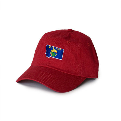 Montana Traditional Hat Red