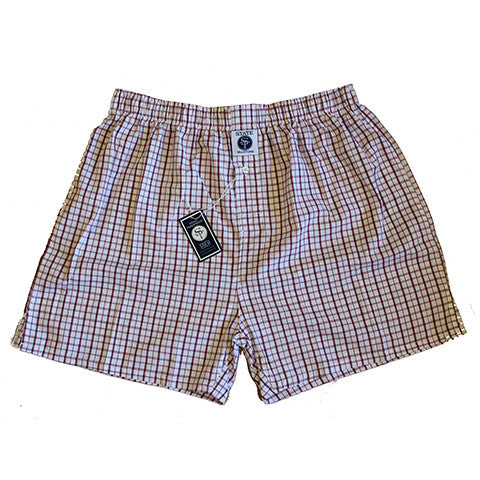 State Traditions Boxers Maroon
