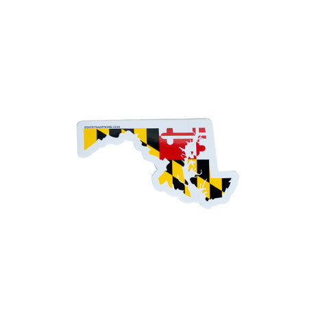 Maryland Traditional Sticker