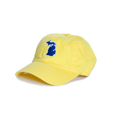 Michigan Ann Arbor Gameday Hat Yellow