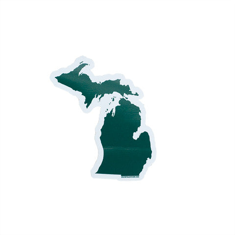 Michigan East Lansing Gameday Sticker