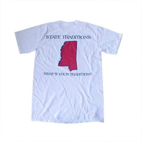 Mississippi Oxford Gameday T-Shirt White