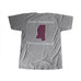 Mississippi Starkville Gameday T-Shirt Grey