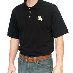 Missouri Columbia Gameday Polo Black