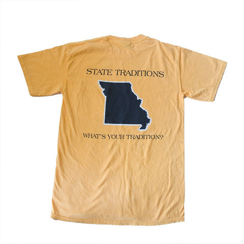 Missouri Columbia Gameday T-Shirt Gold
