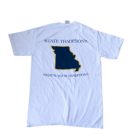 Missouri Columbia Gameday T-Shirt White