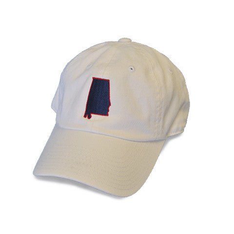 Alabama Mobile Gameday Hat White