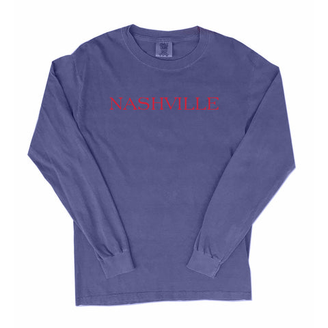 Nashville City Series Long Sleeve T-Shirt