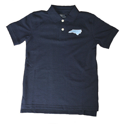 North Carolina Chapel Hill Gameday Youth Polo Navy