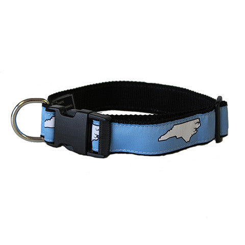 North Carolina Chapel Hill Gameday Dog Collar