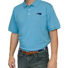 North Carolina Chapel Hill Gameday Polo Light Blue