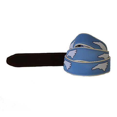 North Carolina Chapel Hill Gameday Belt