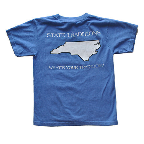 North Carolina Durham Gameday Youth T-Shirt Blue