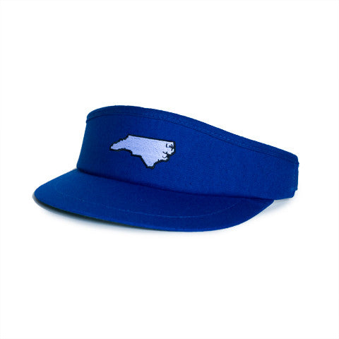 North Carolina Durham Gameday Golf Visor Blue