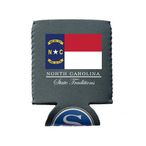 North Carolina Flag Koozie