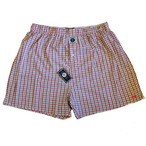North Carolina Raleigh Gameday Boxers Red and Black