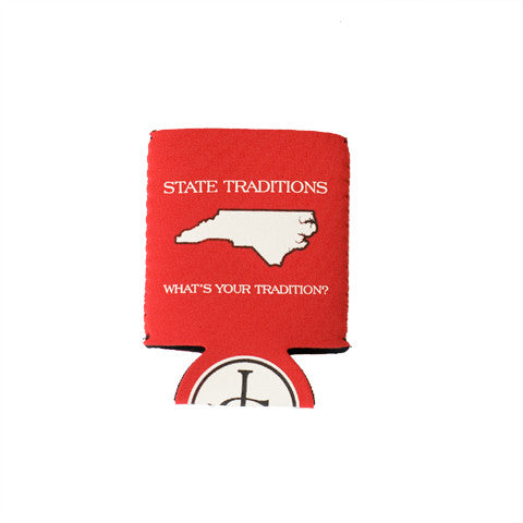 North Carolina Raleigh Gameday Koozie Red
