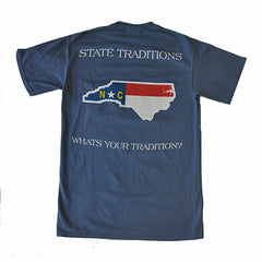North Carolina Traditional T-Shirt Blue