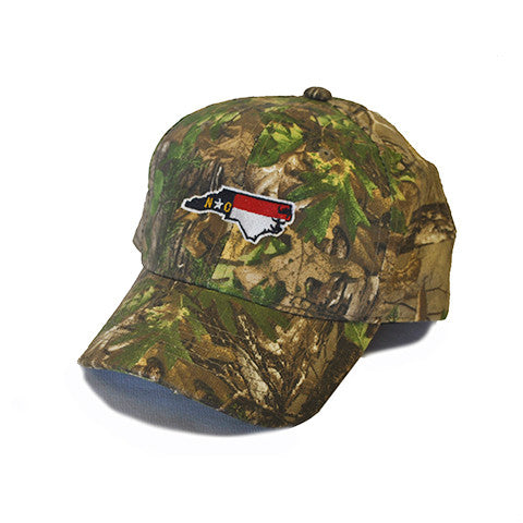 North Carolina Traditional Youth Hat Camo