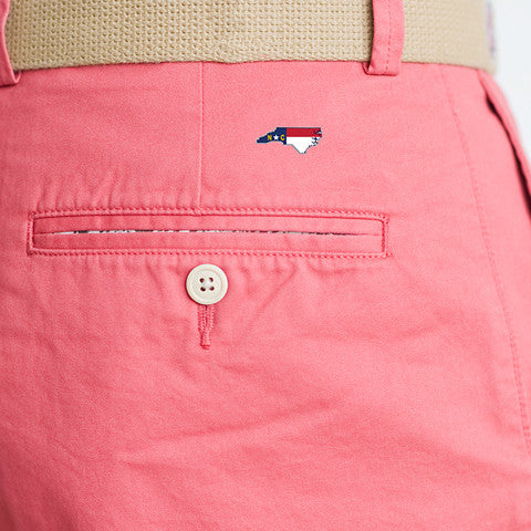 North Carolina Traditional Coastline Shorts Red