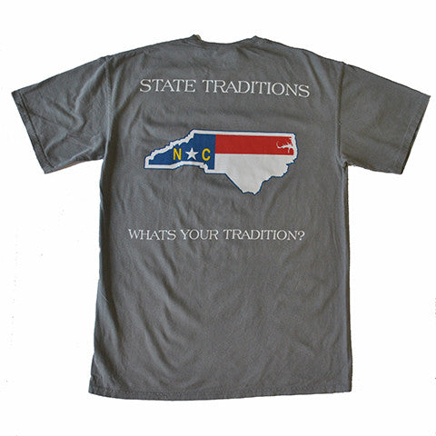 North Carolina Traditional T-Shirt Grey