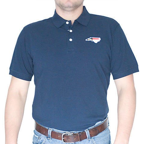 North Carolina Traditional Polo Navy