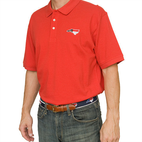 North Carolina Traditional Polo Red