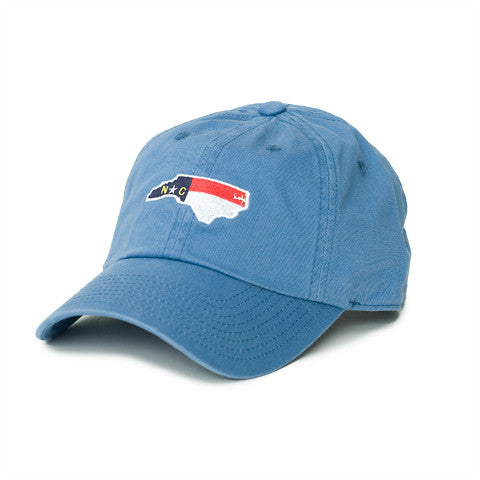 North Carolina Traditional Hat Gulf Blue