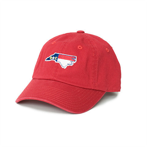 North Carolina Traditional Hat Red
