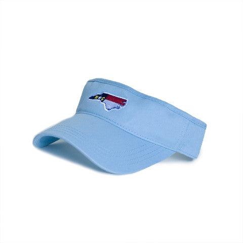 North Carolina Traditional Hat Visor Blue