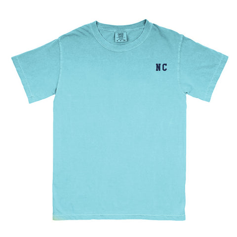 "North Carolina ""NC"" State Letters T-Shirt"