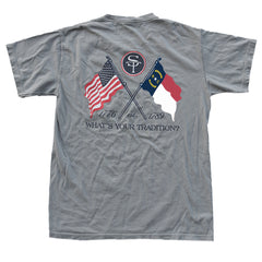 North Carolina Heritage T-Shirt Grey