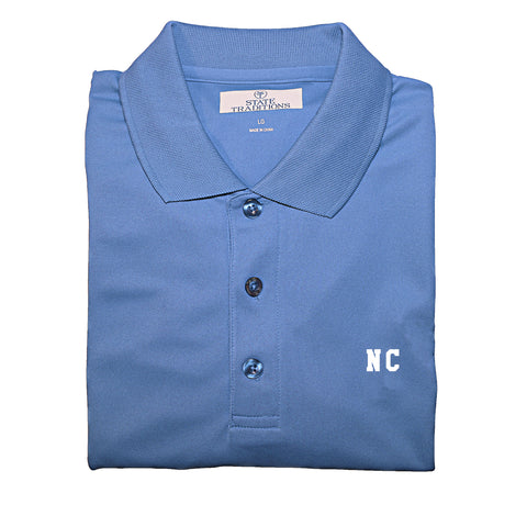 "North Carolina ""NC"" State Letters Performance Polo"