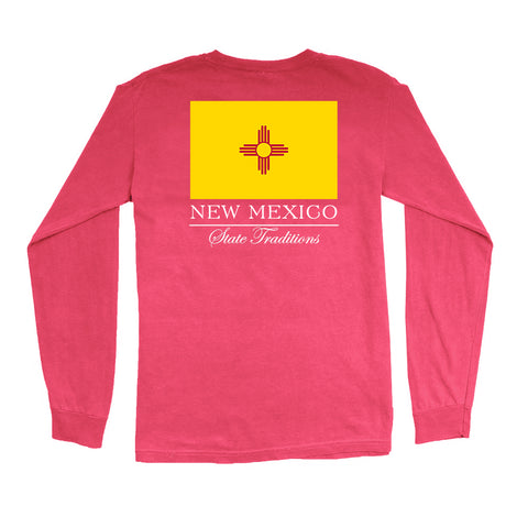 New Mexico State Flag Long Sleeve T-Shirt