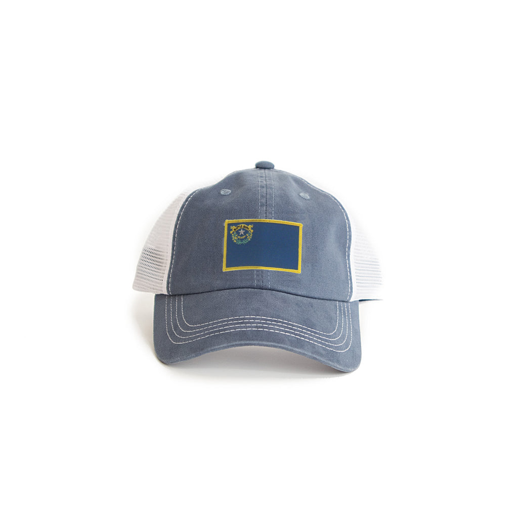 Nevada Flag Trucker Hat Navy