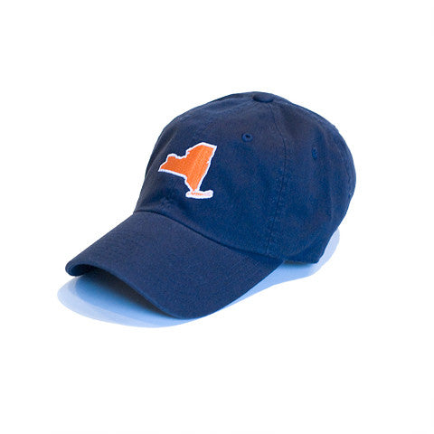 New York Gameday Hat Navy and Orange
