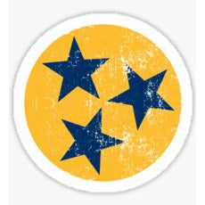 Tennessee Tri-Star Sticker