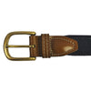 West Virginia Morgantown Gameday Embroidered Belt Navy