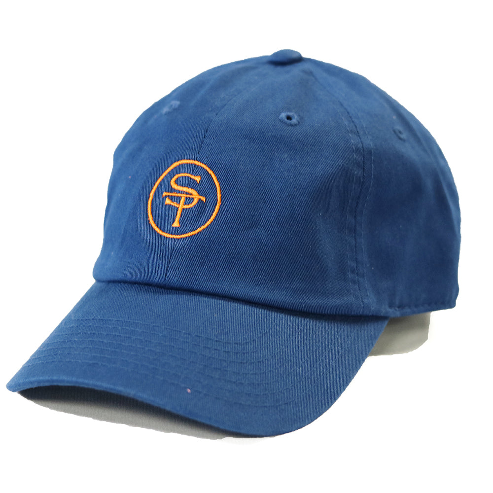 ST Logo Hat Navy and Orange